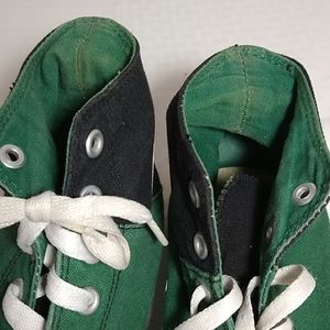 Converse Shoes - Converse All Star Chuck Taylor black and green